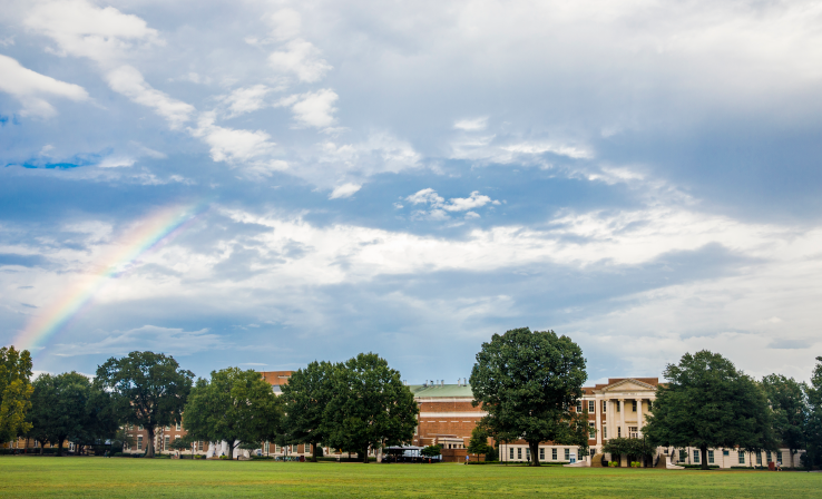 Rainbow on the Quad