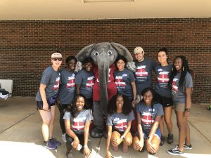 Big Al with Run for Recovery 5k Volunteers