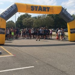 Start of Run for Recovery 5k